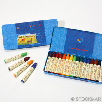 Stockmar Wax Crayons - 16 colors-85032000
