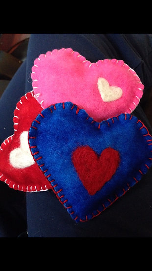 Heart Shaped Hand Warmer-Beanbag