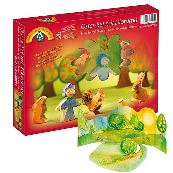 Easter Diorama Set-7pcs-60305