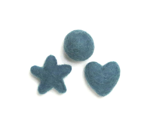 Oasis 37- Felted Shapes