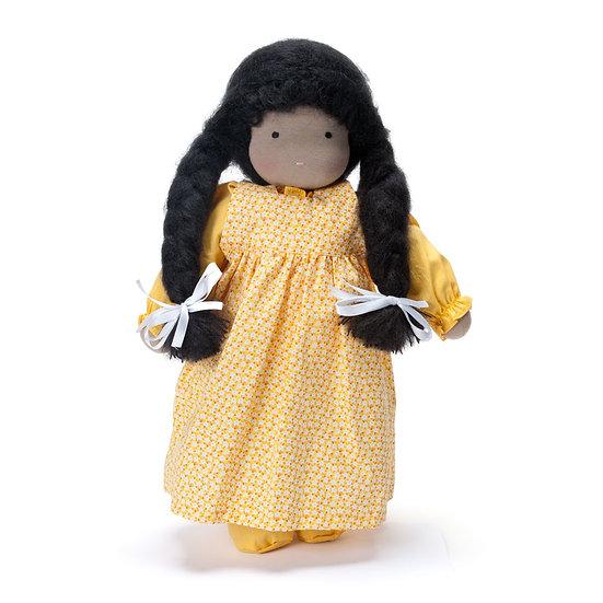 "Classic Waldorf Doll 16"" Girl-med skin"