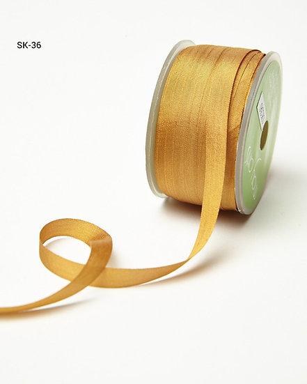 Silk Ribbon -Rust 36