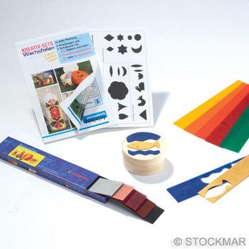 """Decorating Wax Creative Set """"Splint Box""""-85063506"""