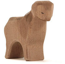 Sheep, brown standing-11652