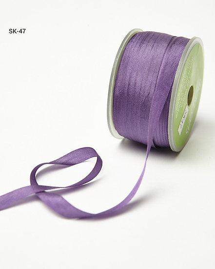 Silk Ribbon -Violet 47