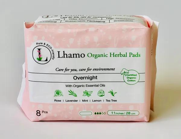 Lhamo Organic Overnight Pads