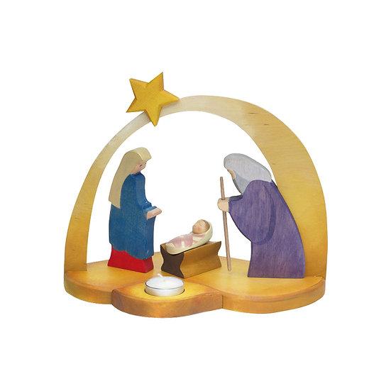 Nativity Candle Holder 5530101