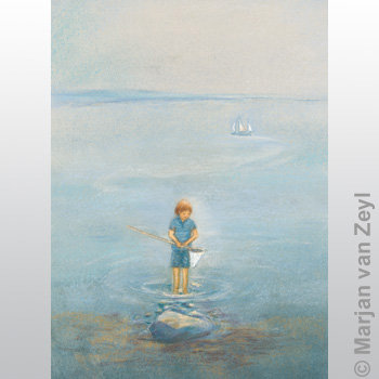 Boy with Fishing Nets