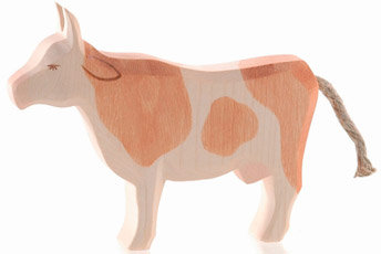 Cow, brown standing-11022
