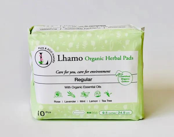 Lhamo Organic Regular Daily Pads