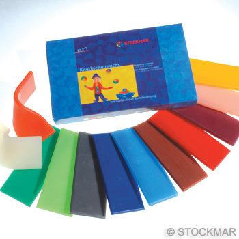 Stockmar Modeling Beeswax-12 colours- 85051200
