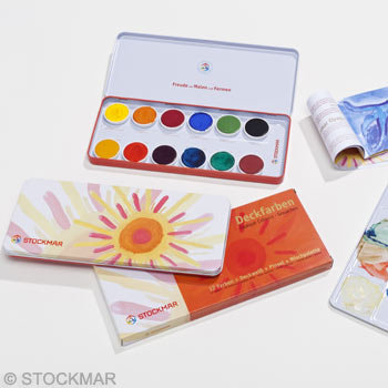 Stockmar Opaque Colour Box-85046100