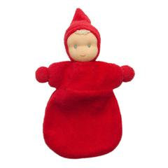Pocket Pixie Doll- red