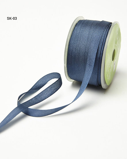 Silk Ribbon -Navy 03