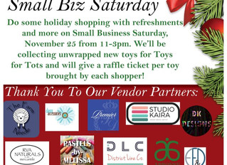 Support Toys for Tots and small businesses. Hosted by and held at The Scott TeamLong & Foster/Th