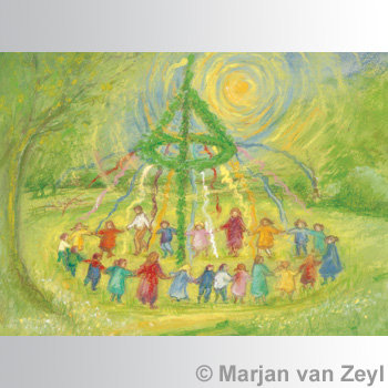 Maypole Dance-Postcards-95304349