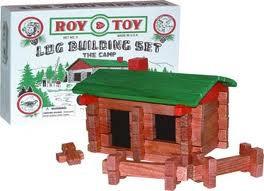 Miniature Log Cabin Item #94002