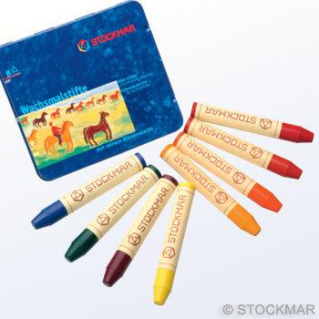 8 colours Waldorf assortment-85031001