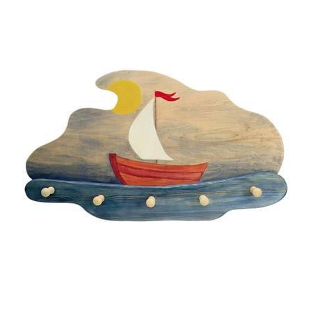 Sailing Boat Coat Rack-5520142