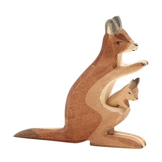 Kangaroo with baby-2062