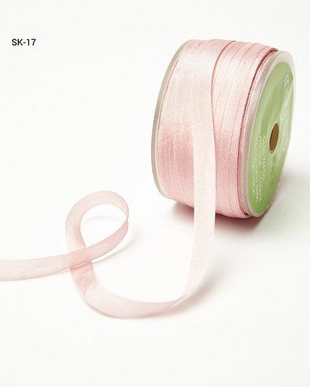 Silk Ribbon -Pink 17