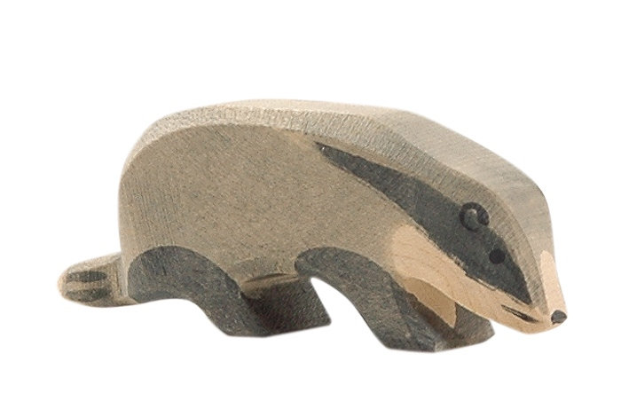 Badger, head down 16262