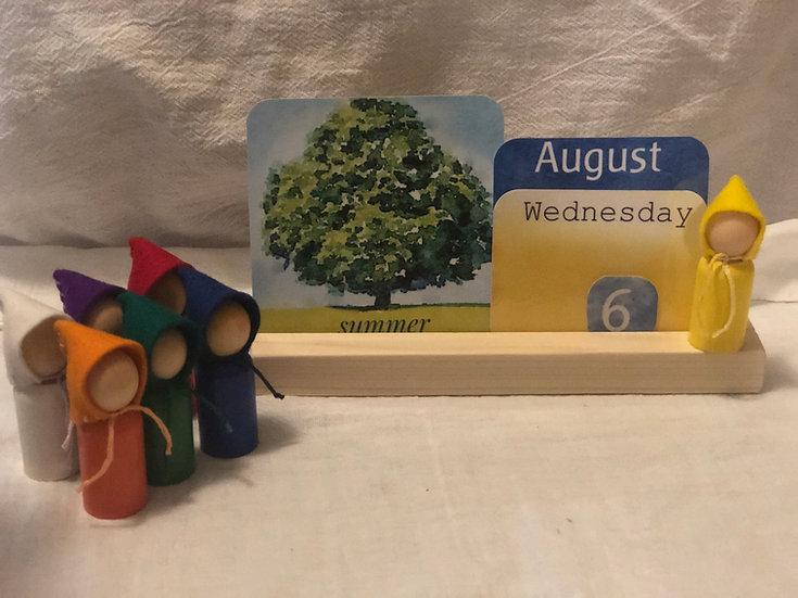 Rhythmic Calendar Cards