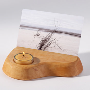 Photo Holder with a Beeswax Tealight-70600010