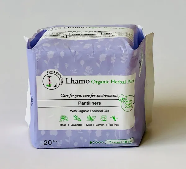 Lhamo Organic Plantiliners Pads