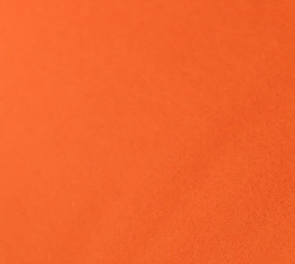 Tangelo - Merino Wool Felt