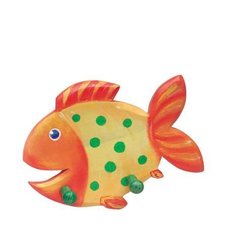 Yellow Fish Coat Rack-5520135