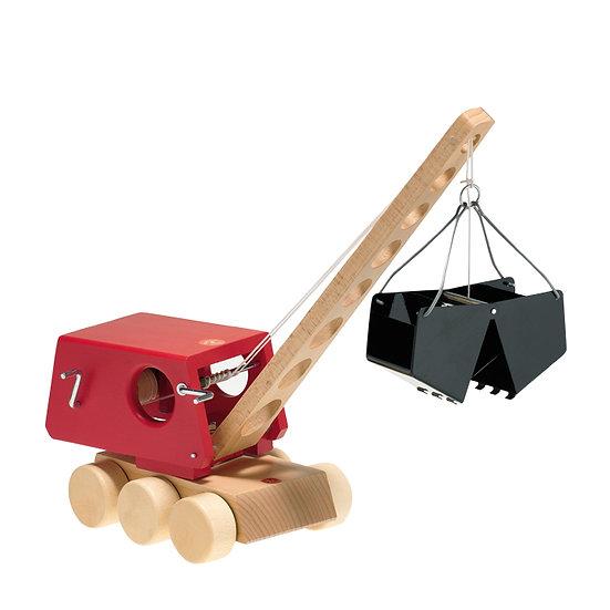Grab Excavator/Red-5560051
