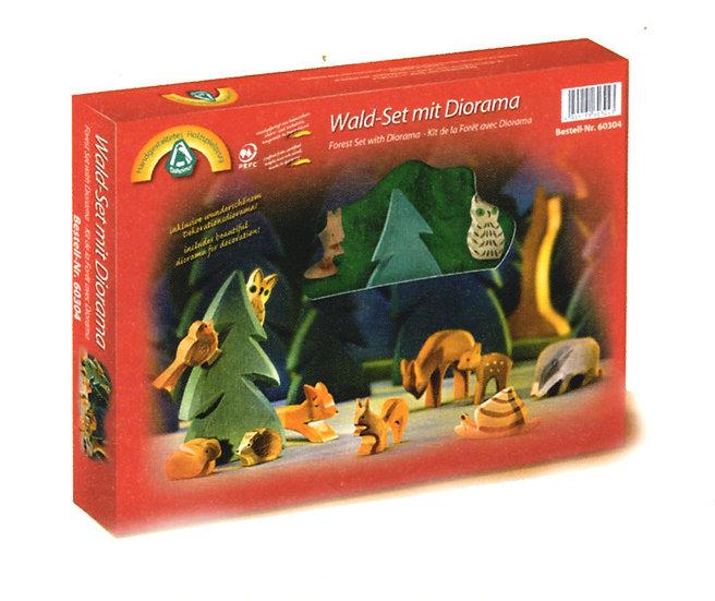 Forest Diorama Set-12pcs-60304