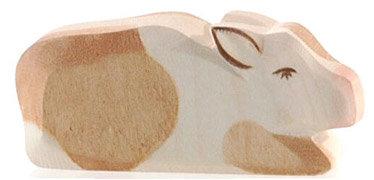 Calf, brown resting-11026