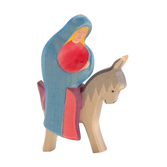 Mary on Donkey-4038