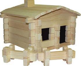 Earth-Friendly Cabin Item #20081