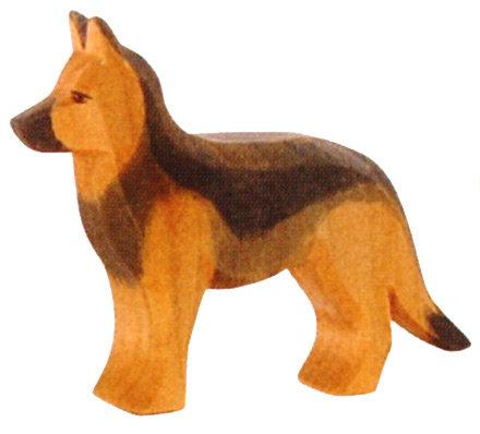 German Shepherd, standing-10506