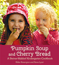 Pumpkin Soup and Cherry Bread