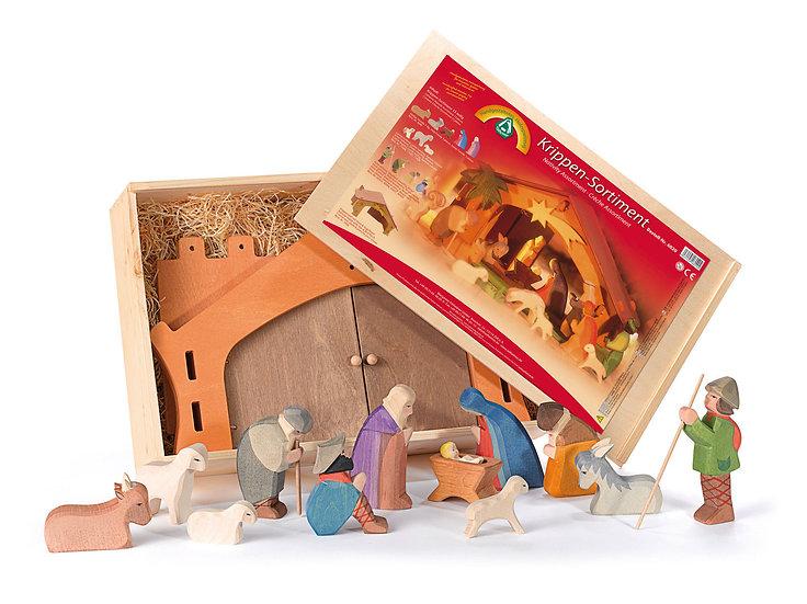 Nativity Assort.-13pcs-6020