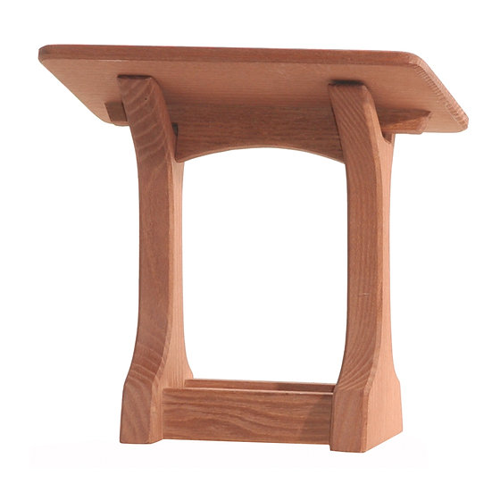 Manger with Roof-4060