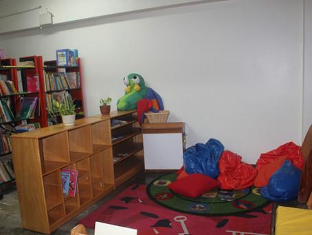 Inauguran biblioteca escolar para el distrute de los estudiantes