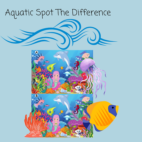 Aquatic Spot the Difference