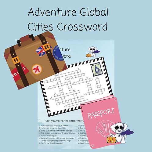 Adventure Global Cities Crossword