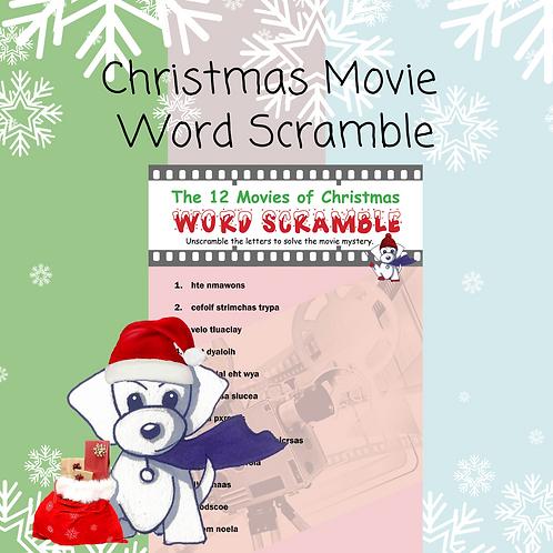 Christmas Movie Word Scramble