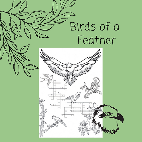 Birds of a Feather Crossword
