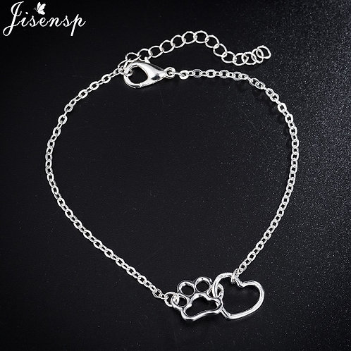 Pawprint Heart Lovely bracelet