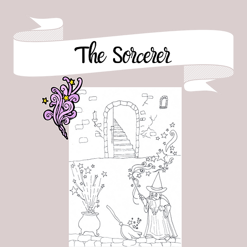 The Sorcerer Coloring