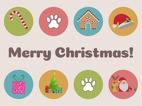 A Pawfect Christmas Card