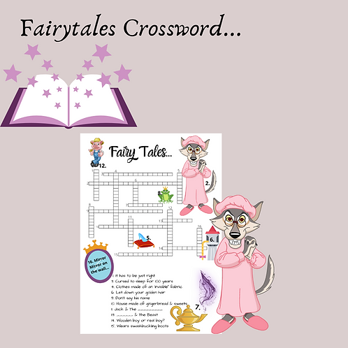 Fairytales Crossword