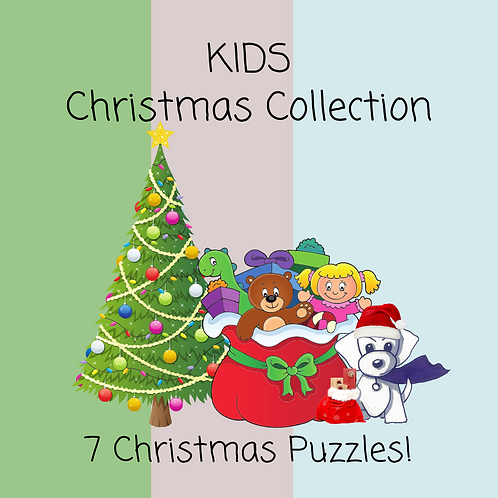 Kids Christmas Collection - 7 pages!